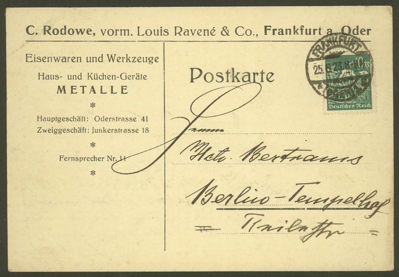 Deutsches Reich  -  Schöne Briefe 25062310