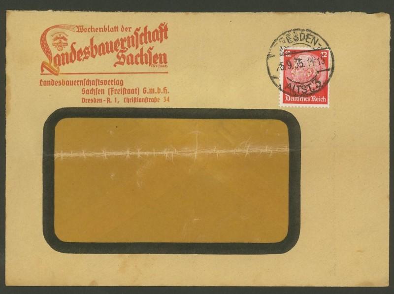 Deutsches Reich  -  Schöne Briefe 25093510
