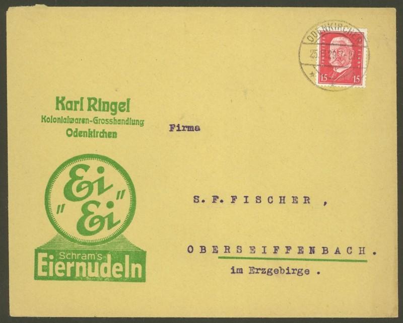 Deutsches Reich  -  Schöne Briefe 25112910