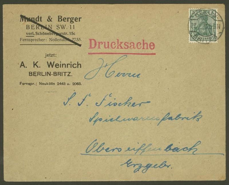 Deutsches Reich  -  Schöne Briefe 27082010