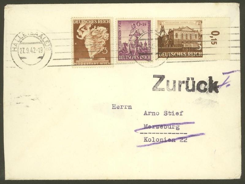 Deutsches Reich  -  Schöne Briefe 27094210