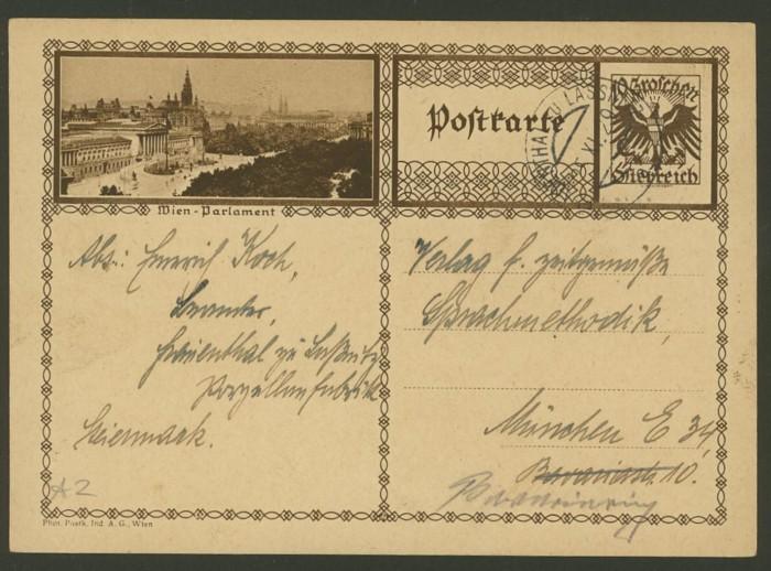 Bildpostkarten Österreich  -  Mi. P 278 2_20011