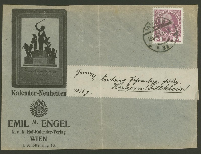 Ältere Briefe von Österreich  -  nett anzuschauen 311