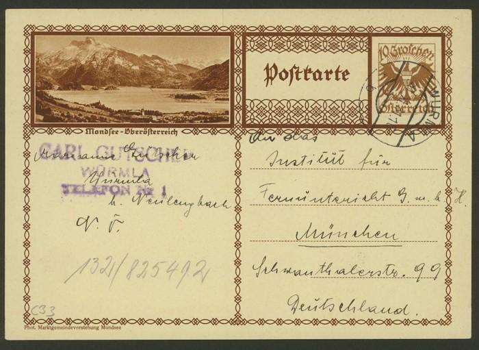 Bildpostkarten Österreich  -  Mi. P 278 33_20010