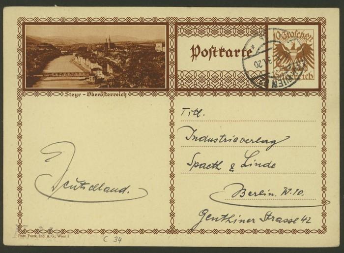 Bildpostkarten Österreich  -  Mi. P 278 34_20010