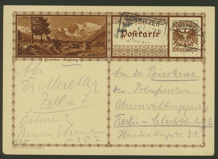 Bildpostkarten Österreich  -  Mi. P 278 35_20010