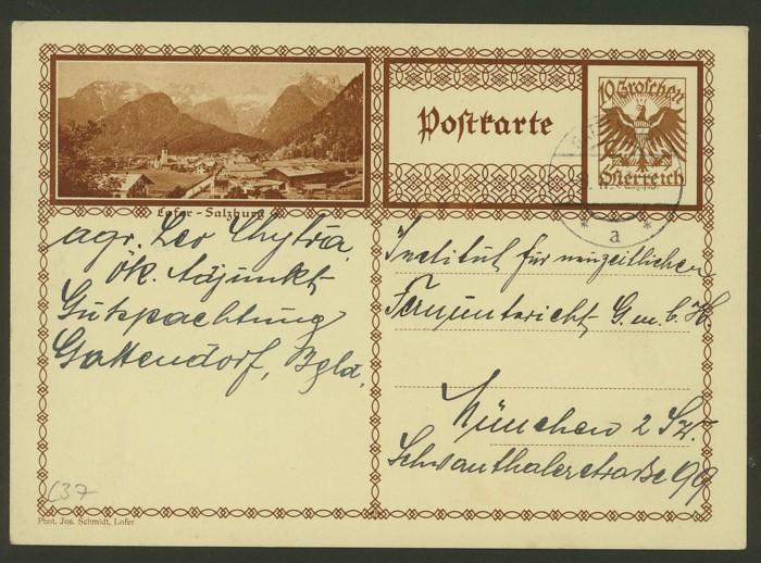 Bildpostkarten Österreich  -  Mi. P 278 37_20010
