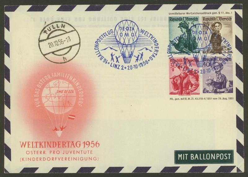 ballonpost - Die Privatganzsachen der österreichischen Ballonpost 4000110