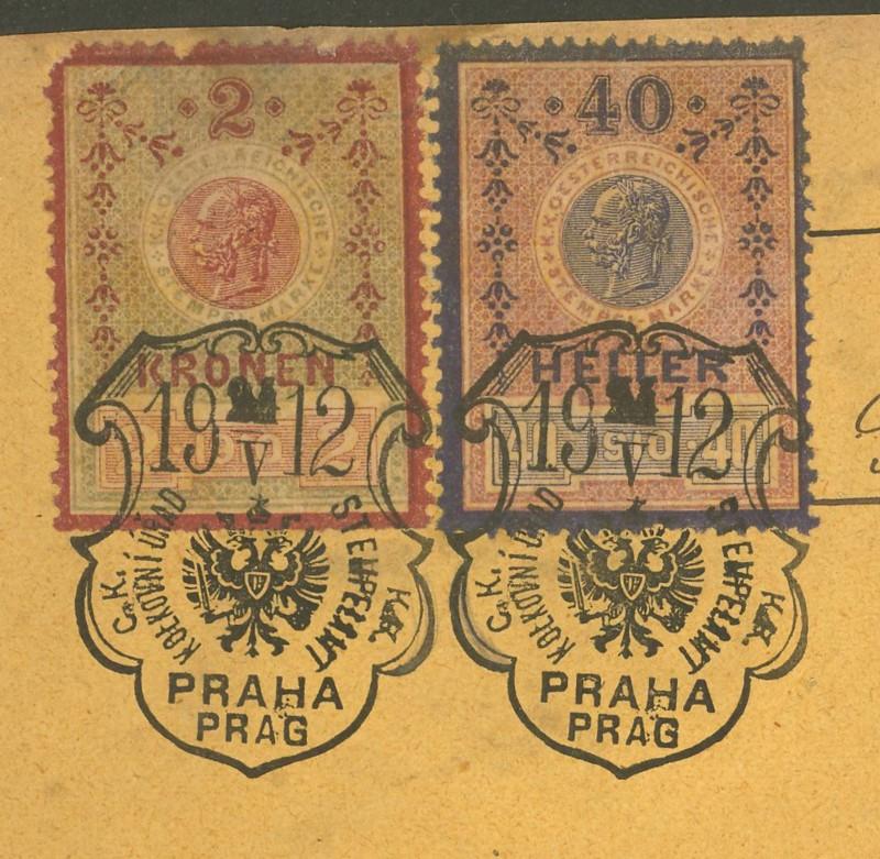 Die Verwendung von Fiskalmarken in Österreich 40010