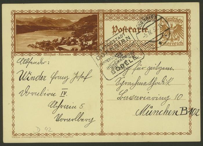 Bildpostkarten Österreich  -  Mi. P 278 42_20010