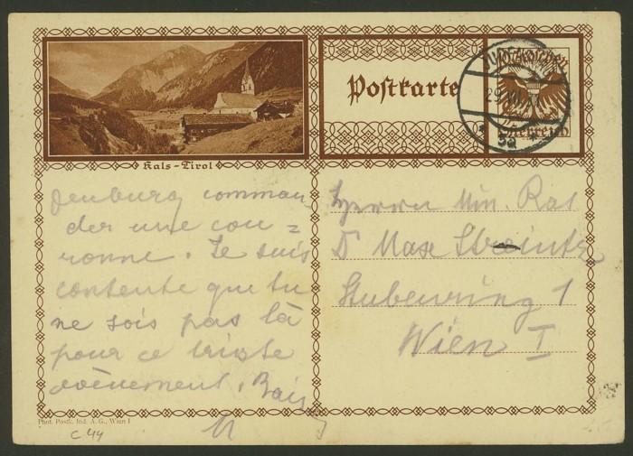 Bildpostkarten Österreich  -  Mi. P 278 44_20010
