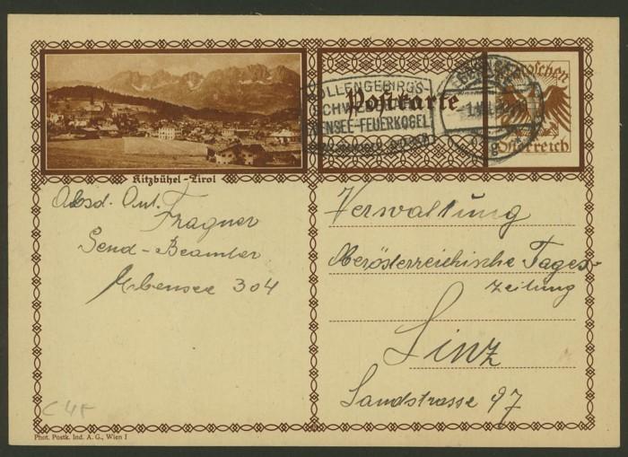 Bildpostkarten Österreich  -  Mi. P 278 45_20011