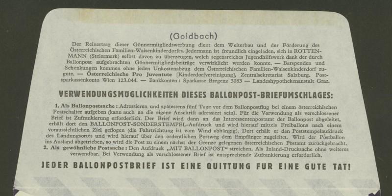 ballonpost - Die Privatganzsachen der österreichischen Ballonpost 4_10