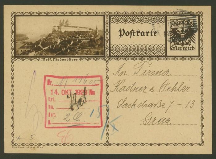 Bildpostkarten Österreich  -  Mi. P 278 5_20010
