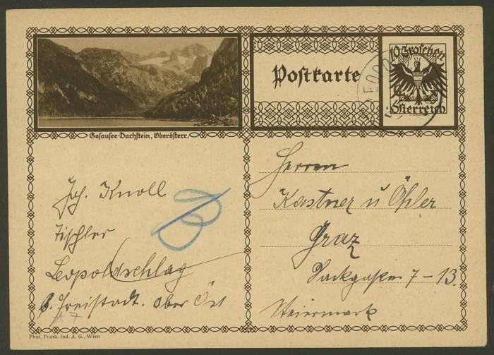 Bildpostkarten Österreich  -  Mi. P 278 7_20010