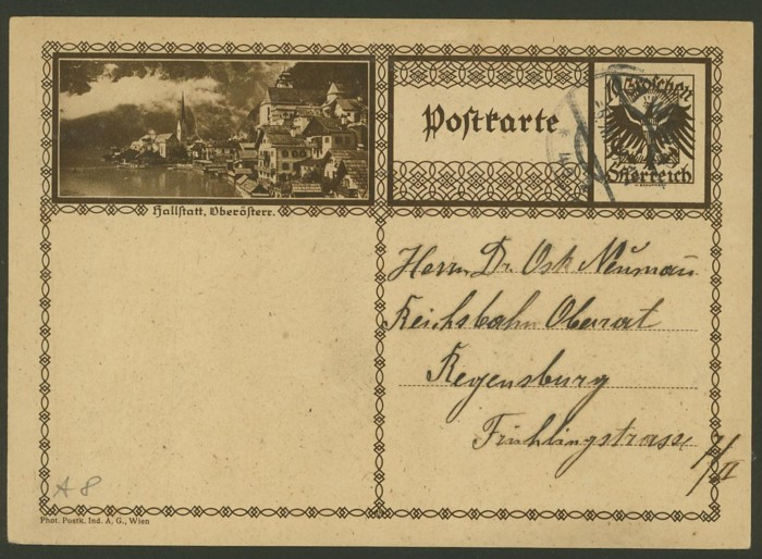 Bildpostkarten Österreich  -  Mi. P 278 8_20010