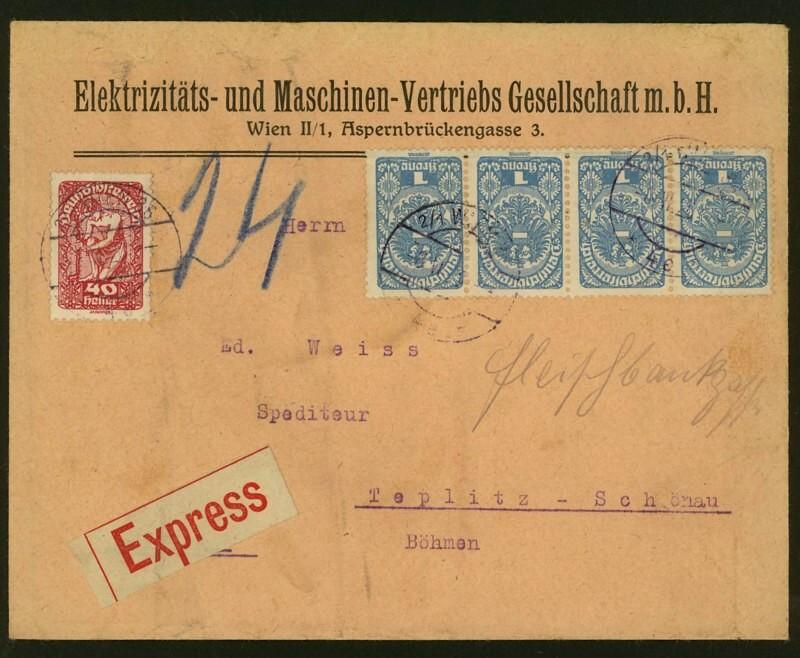 Ältere Briefe von Österreich  -  nett anzuschauen A_scha10