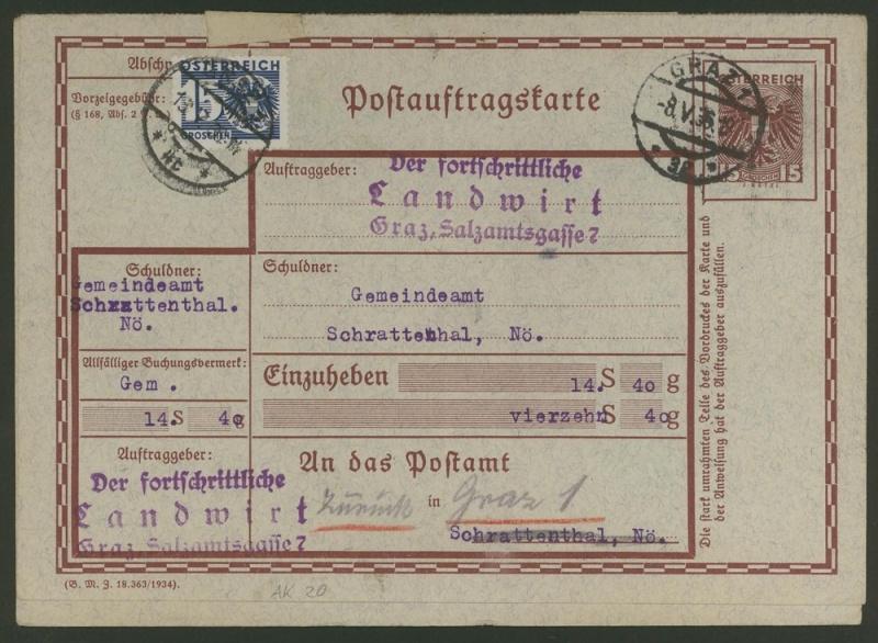 Postauftragskarten Ak_2010