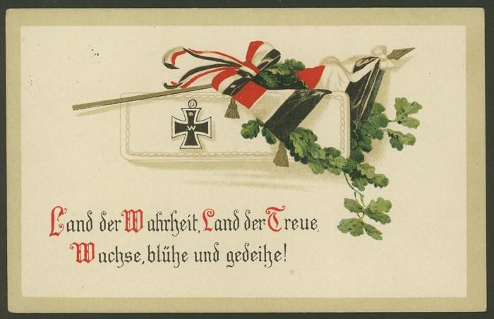 Patriotische Karten aus der Zeit um 1915 Ak_pat14