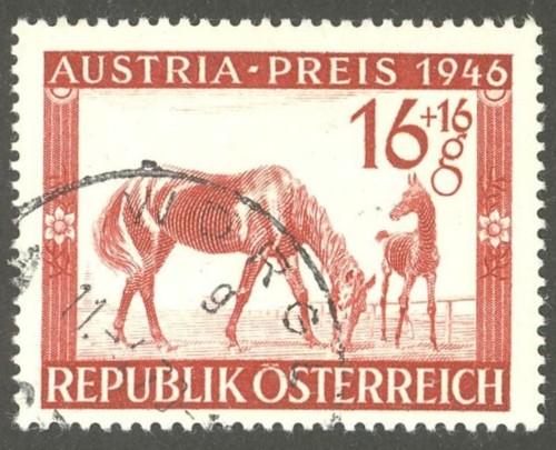 Horses / Pferde (Marken auf Brief oder Karte) At-pfe10