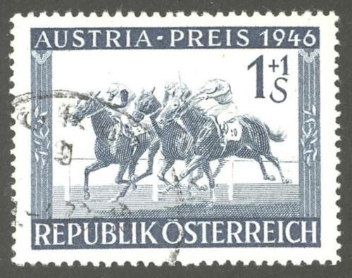 Horses / Pferde (Marken auf Brief oder Karte) At-pfe13