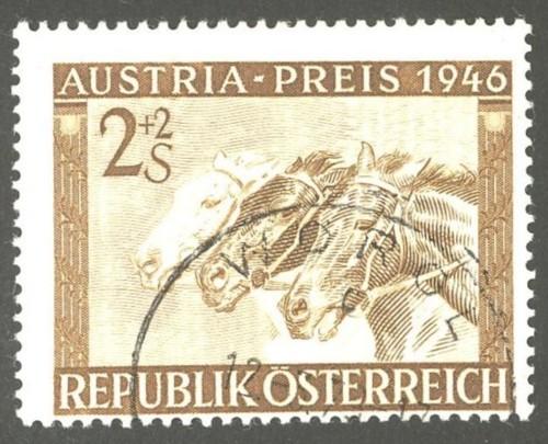 Horses / Pferde (Marken auf Brief oder Karte) At-pfe14