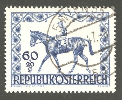 Horses / Pferde (Marken auf Brief oder Karte) At-pfe15