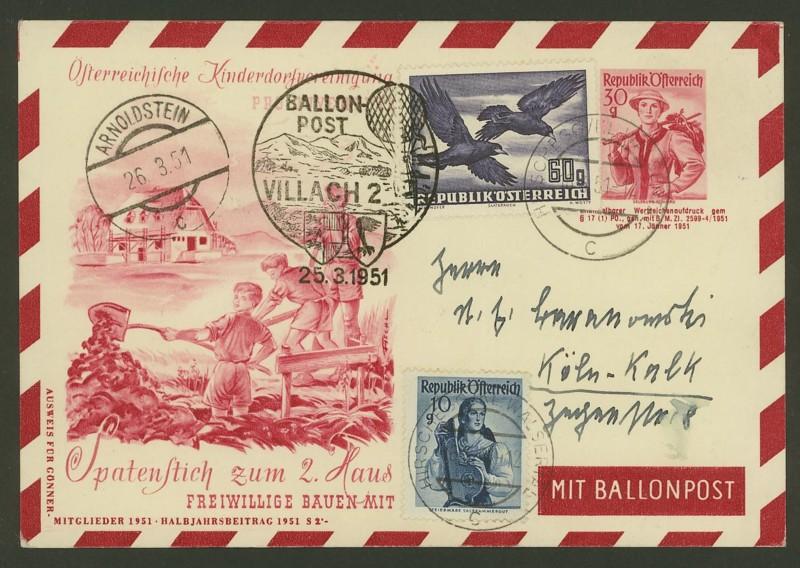 ballonpost - Die Privatganzsachen der österreichischen Ballonpost Ballon19