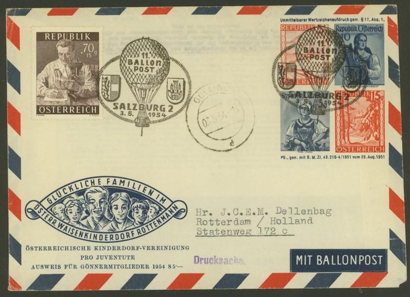ballonpost - Die Privatganzsachen der österreichischen Ballonpost Ballon29
