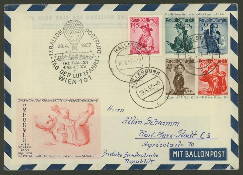 ballonpost - Die Privatganzsachen der österreichischen Ballonpost Ballon35