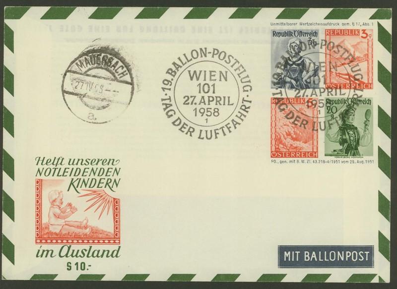 ballonpost - Die Privatganzsachen der österreichischen Ballonpost Ballon41