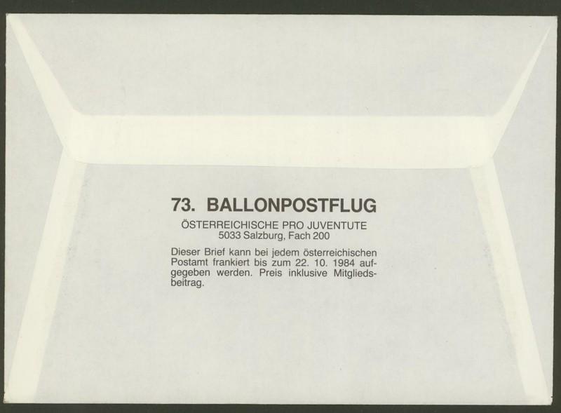 ballonpost - Die Privatganzsachen der österreichischen Ballonpost Ballon65