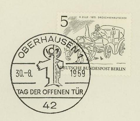 Horses / Pferde (Marken auf Brief oder Karte) Berlin10