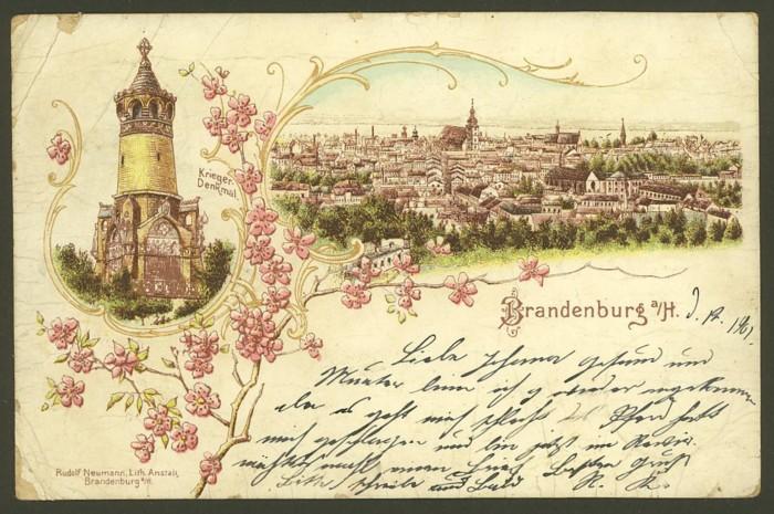 Farblithos aus Deutschland Brande11