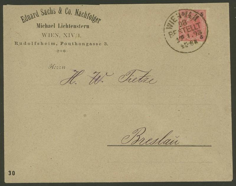 Ältere Briefe von Österreich  -  nett anzuschauen Brief10