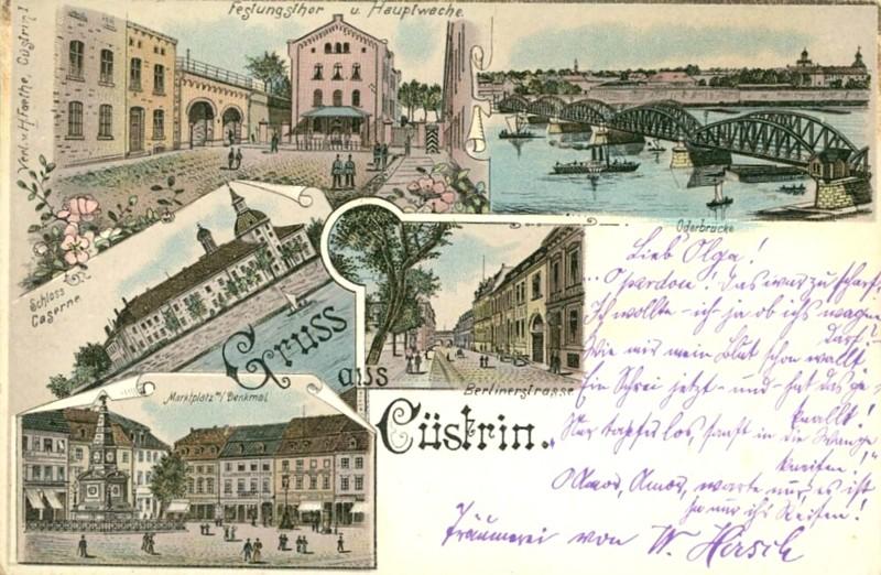 Cüstrin in alten Ansichten Castri12