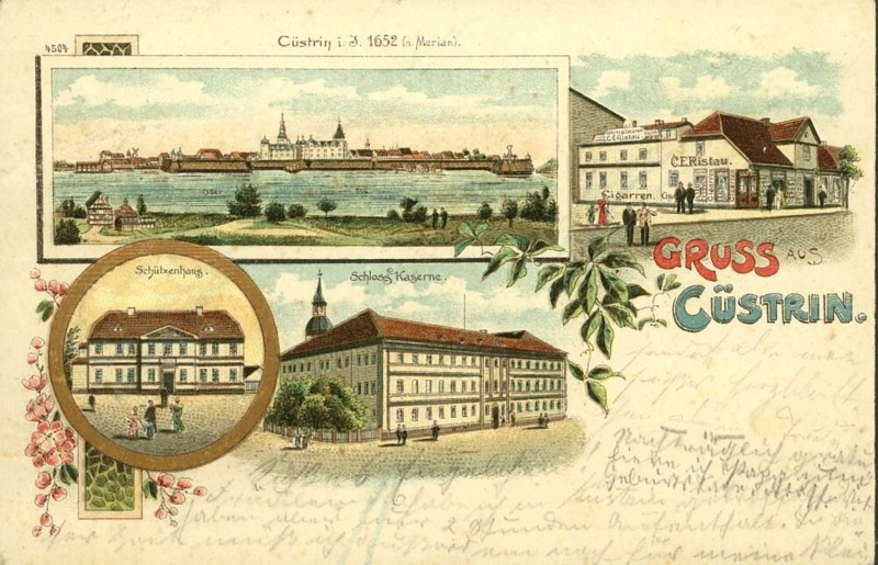 Cüstrin in alten Ansichten Castri14