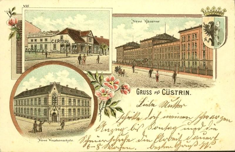 Cüstrin in alten Ansichten Castri15