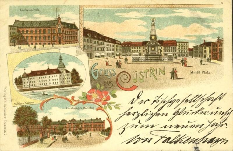 Cüstrin in alten Ansichten Castri18