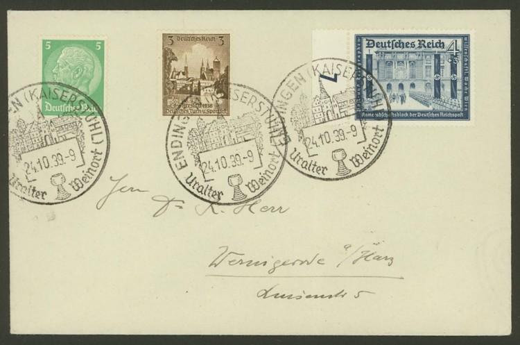 Deutsches Reich  -  Schöne Briefe Dr10