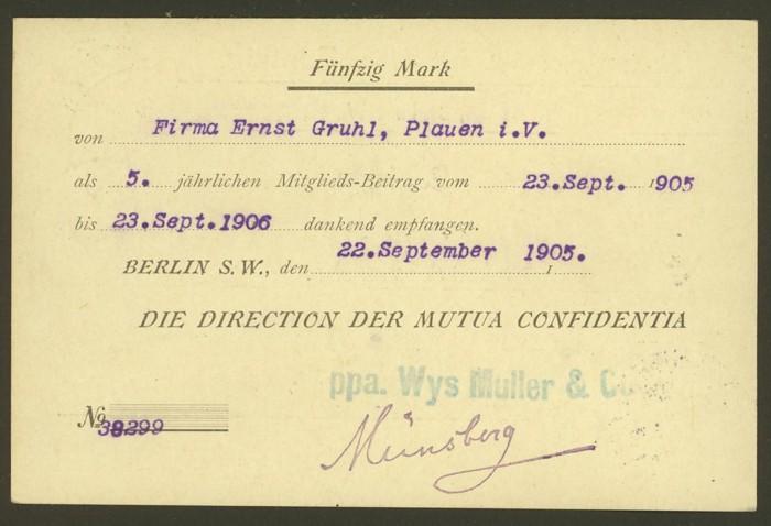 Deutsches Reich  -  Poststücke mit Nachnahme Dr_nac11