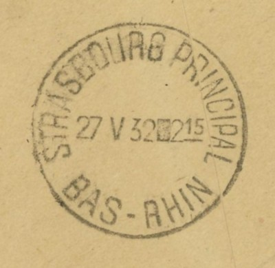Briefe aus Frankreich   /   1930 - Kriegsbeginn F_1_rs11