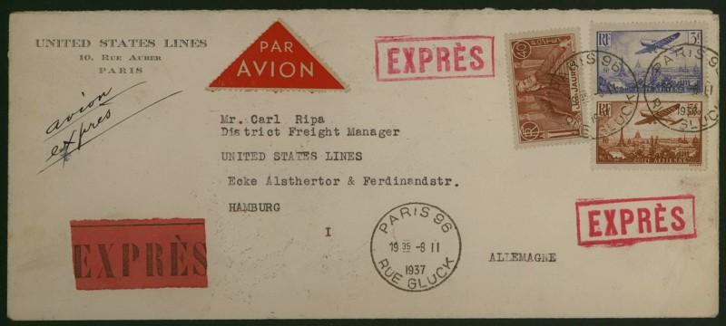 Briefe aus Frankreich   /   1930 - Kriegsbeginn F_1_vs10