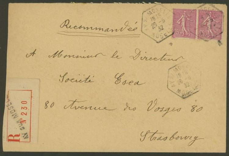 Briefe aus Frankreich   /   1930 - Kriegsbeginn F_1_vs11