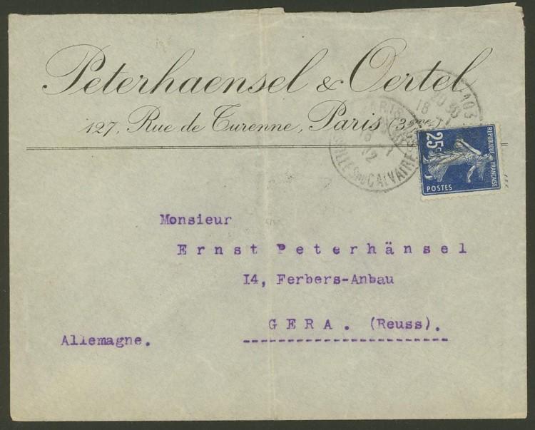 Briefe aus Frankreich   /   1930 - Kriegsbeginn F_2_vs10