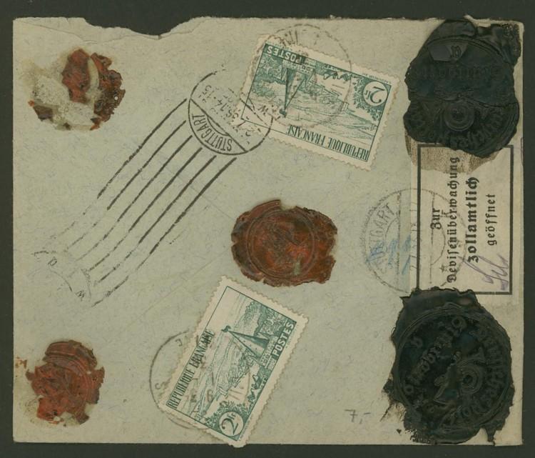 Briefe aus Frankreich   /   1930 - Kriegsbeginn F_4_rs10