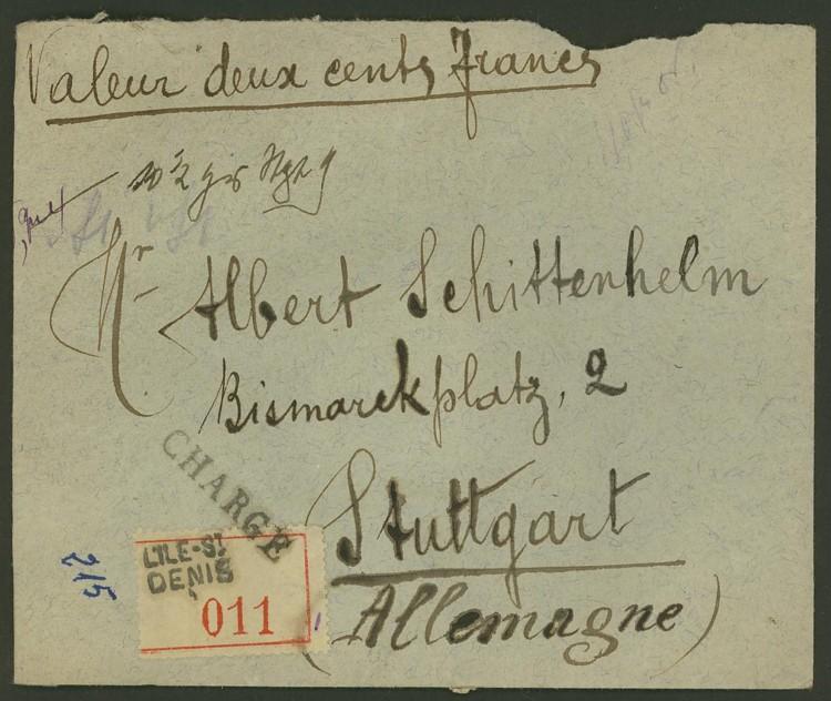 Briefe aus Frankreich   /   1930 - Kriegsbeginn F_4_vs10
