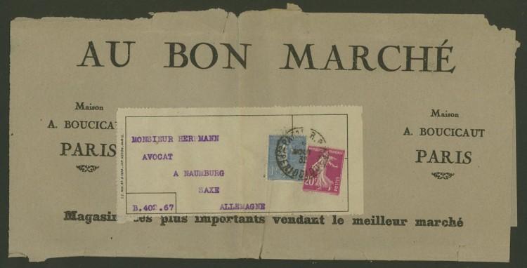 Briefe aus Frankreich   /   1930 - Kriegsbeginn F_6_vs10