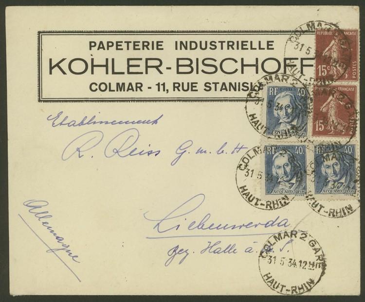 Briefe aus Frankreich   /   1930 - Kriegsbeginn F_710