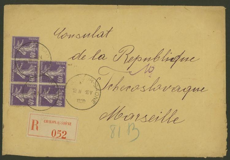 Briefe aus Frankreich   /   1930 - Kriegsbeginn F_810